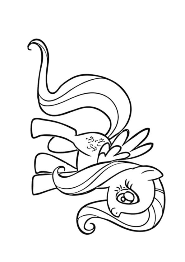 Флаттершай (Fluttershy) пони-пегас