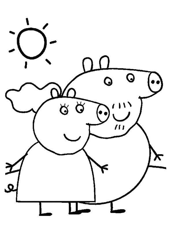 Свинки бабушка и дедушка