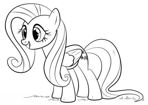 Флаттершай (Fluttershy Pony)