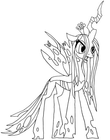 Королева Крисалис (Queen Chrysalis)