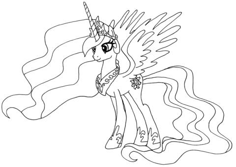 Принцесса Селестия (Princess Celestia)