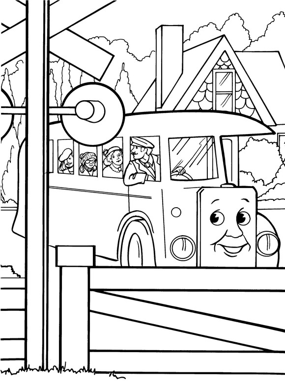 Томас и его друзья раскраски