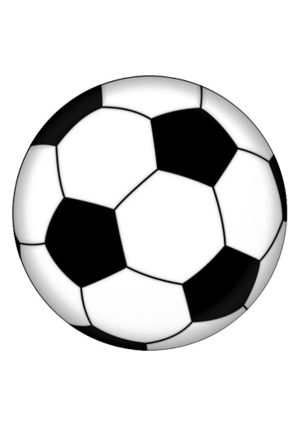 Мяч – раскраска для детей бесплатно распечатать и игра-онлайн
