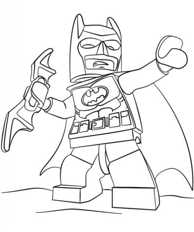 Минифигурка Lego Бэтмен
