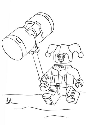 Минифигурка Lego Харли Квинн