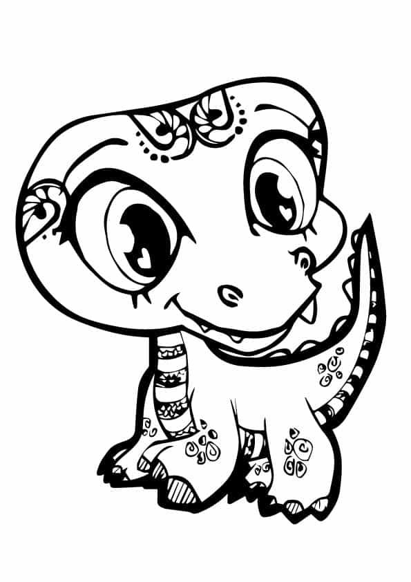 Динозаврик Trent