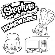 Бытовая техника Шопкинсы