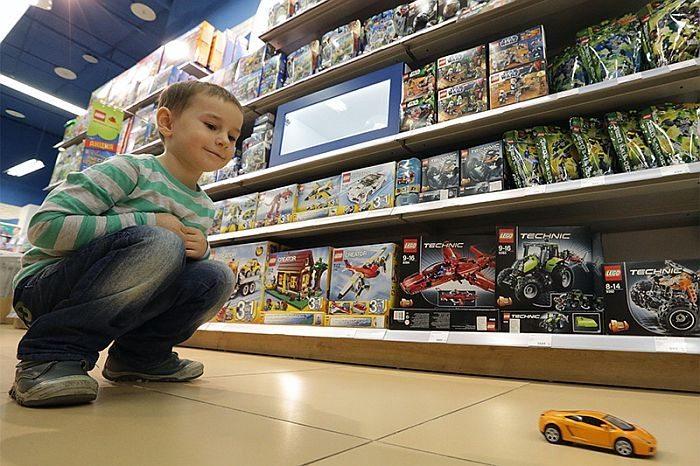 В России цены на игрушки взлетели вверх