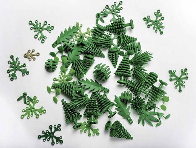 Lego выпускает новинки из биопластика