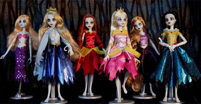 Коллекция куклы монстры