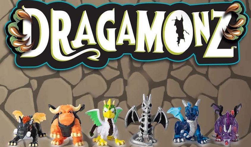 Новая линейка игрушек Dragamonz