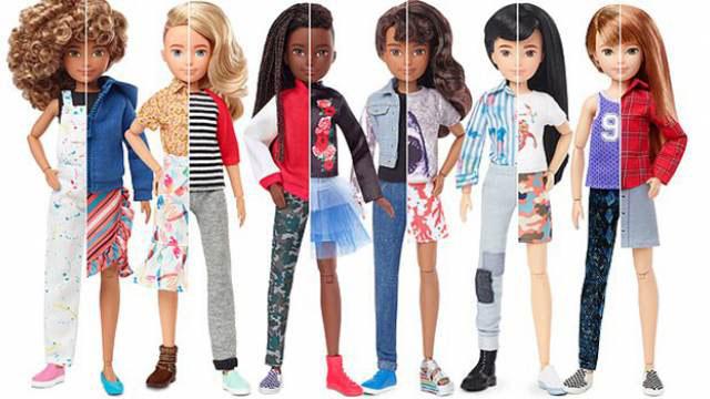 Гендерные куклы Барби