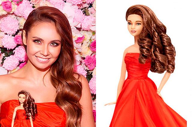 Ляйсан Утяшева стала моделью для куклы Барби